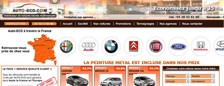 3w net cr ation de sites internet pour l 39 automobile. Black Bedroom Furniture Sets. Home Design Ideas